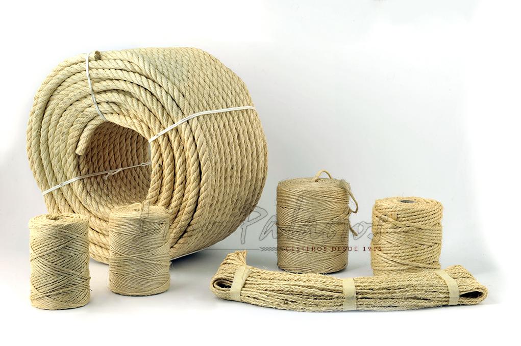 Mejores cestas de mimbre productos de mimbre en madrid for Cuerda de pita
