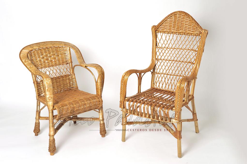 Mejores cestas de mimbre productos de mimbre en madrid for Sillones de mimbre para terraza