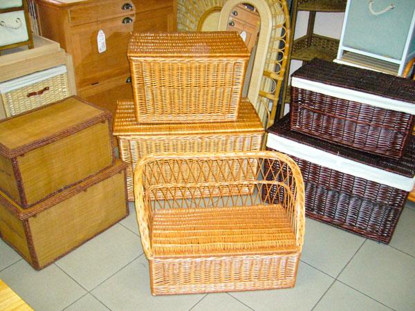 Mejores cestas de mimbre productos de mimbre en madrid - Baules de mimbre ...